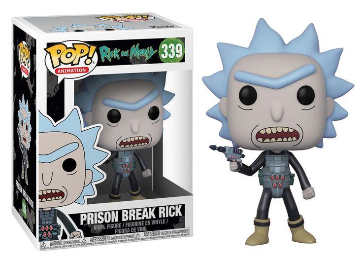 Funko POP! Animation Rick and Morty PRISON ESCAPE RICK #339 Vinyl Figure #funko #pop #funkopop #prison #break #rick #vinyl #toy