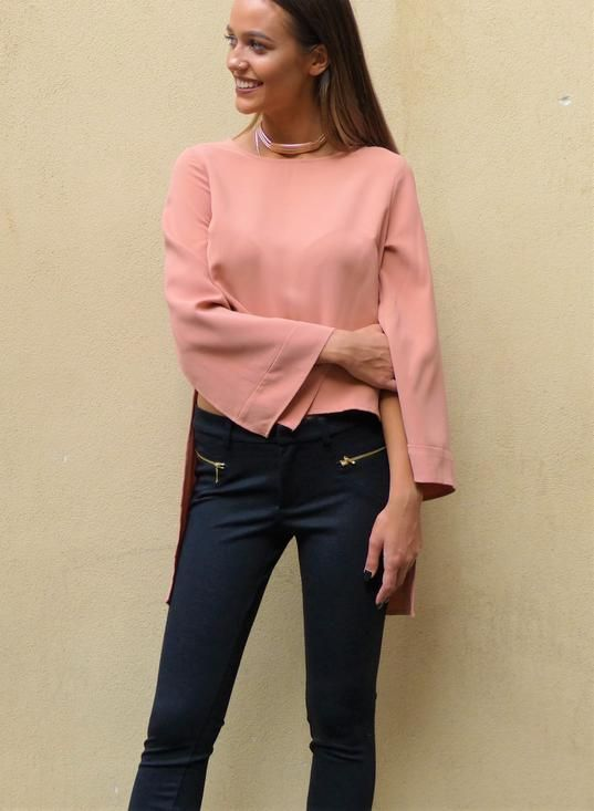 Harvey The Label / KNIVES TOP BLUSH COLOUR - Akagu