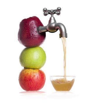 sok tłoczony green'o, czyli pyszne soki bo powstające bezpośrednio z samych owoców lub warzyw, nigdy z koncentratu