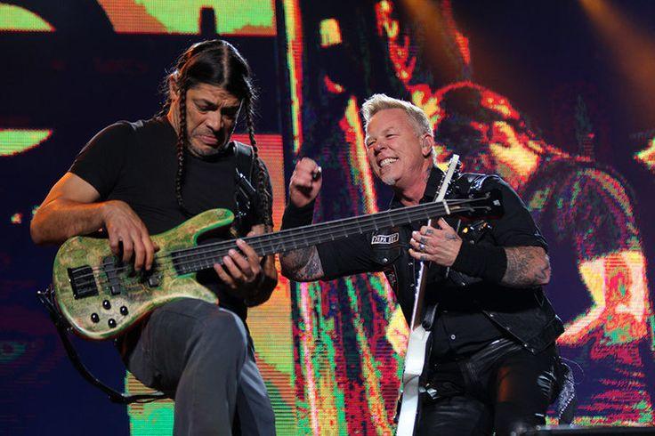 Santiago, Chile - April 1, 2017 - Metallica