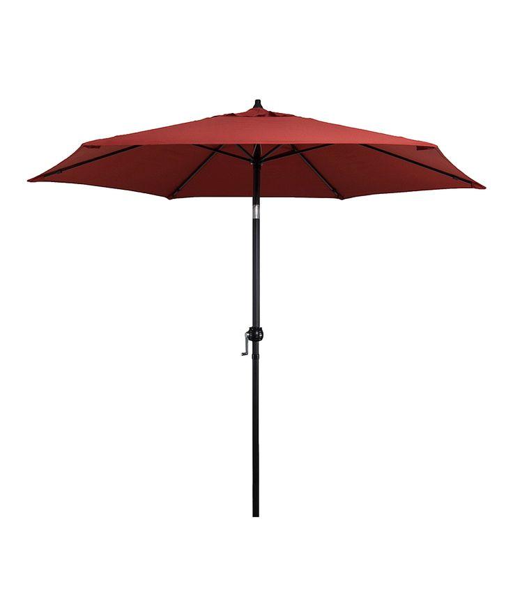 Brick Steel-Frame Market Umbrella