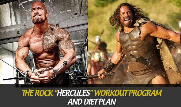 The Rock Hercules Workout Program & Diet Plan Revealed This.