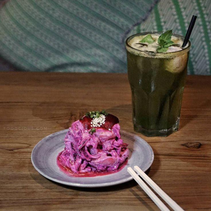 #Bali. Salah satu menu sehat dan menarik buat di coba di @Wabi.Sabi.Bali namanya Beetroot & Potato Salad dengan homemade sourcream. Rasanya light unik dan rasa beetroot nya ga terlalu dominan karena konsepnya izakaya jadi makanan disini pasti cocok banget buat nemenin minuman2 kaya shocu chuhai dan lain2nya