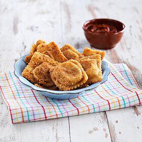 Golden Baked Ravioli