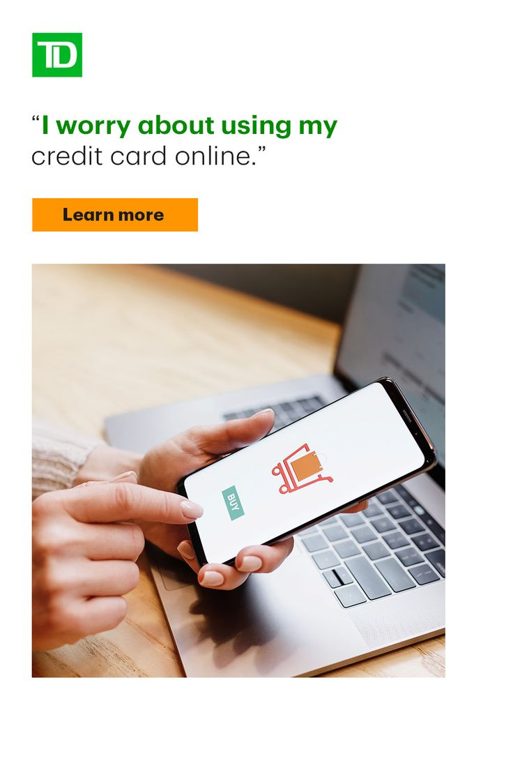 TD Fraud Alerts helps protect your TD Cards against
