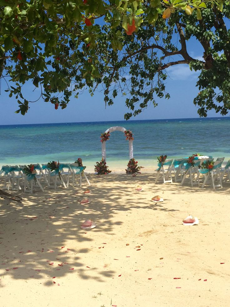 A Private Beach Ceremony Location At Sunscape Cove Montego Bay Opening December 2015