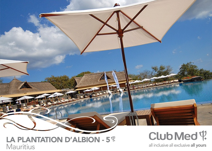 5T Club Med Resort in Mauritius. In a remote beauty spot, savour the luxury of Mauritius and its lifestyle 5T Club Med Resort in Mauritius. In a remote beauty spot, savour the luxury of Mauritius and its lifestyle