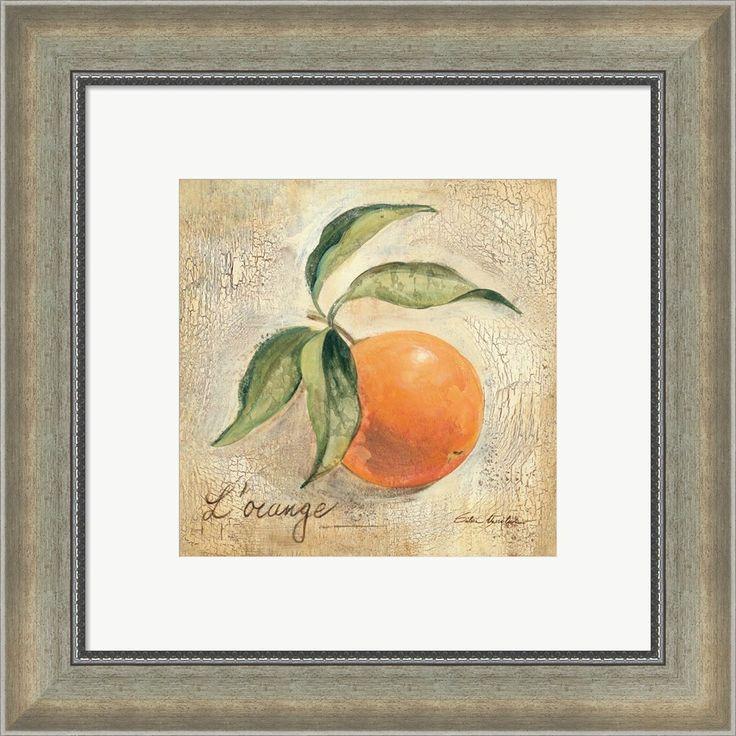 Silvia Vassileva 'L'Orange' Framed Art
