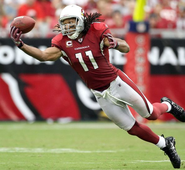 Larry Fitzgerald - Arizona Cardinals future hall of fame!!! Amazing character!!!!!