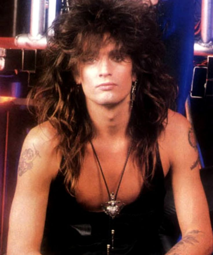 A young Tommy Lee of Motley Crue
