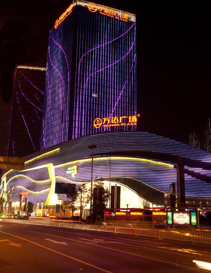 Front Elevation Lights : Best images about facades led media light on pinterest
