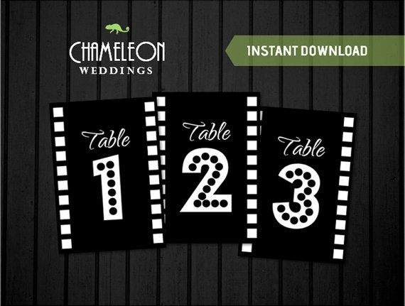 90 best images about th me cin ma on pinterest vintage for Table theme cinema
