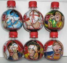 Coca Cola bottles GERMANY MUNDIAL 2006 WORLD CUP FIFA MCDONALD MINI BALL SET