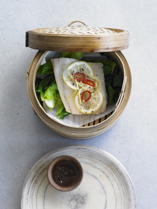 9 best food images on pinterest david food styling and good food steamed fish with lemon ginger chilli recipe recipes bbc good food forumfinder Gallery