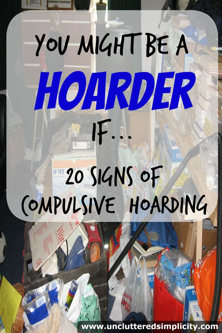 My clutter has gotten out of control! Could I be a hoarder and not even know it?