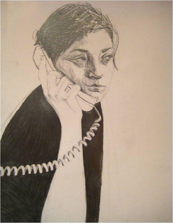 """""""I'm listening"""", 2003"""