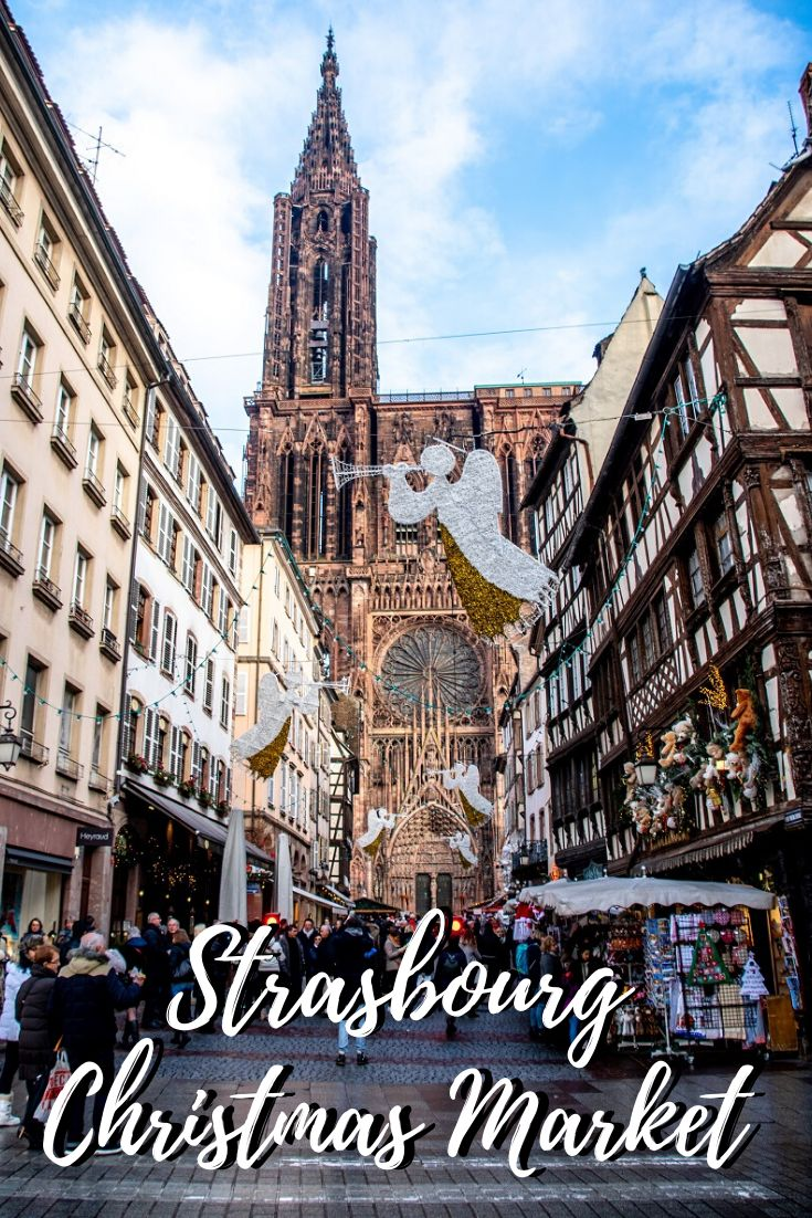 Seasonal Fun at the Strasbourg Christmas Market Holiday