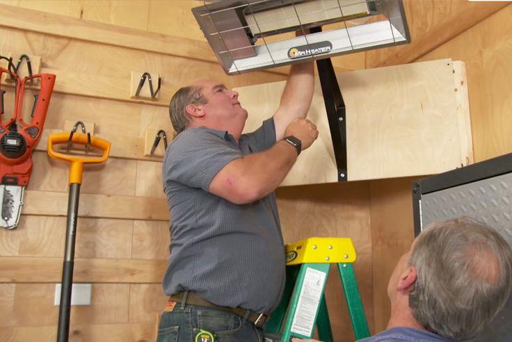 Best Way to Heat a Garage in Winter & Keep it Warm