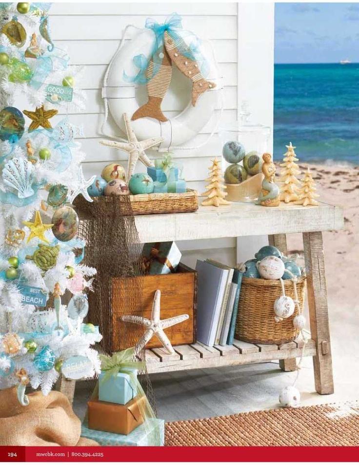 10 best Coastal Christmas images on Pinterest Christmas decorating - coastal christmas decorations