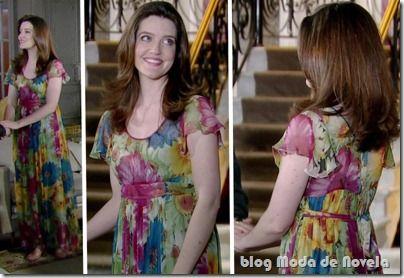 Looks de dezembro da Felícia na novela Passione