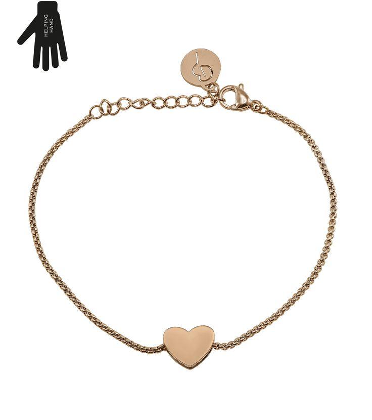 Together Bracelet Rose Gold 399 kr från Edblad
