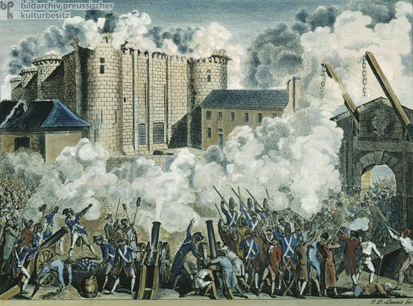 bastille before revolution