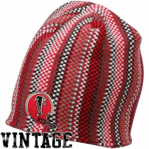 Reebok Atlanta Falcons Red-Black Grandma's Boy Uncuffed Knit Beanie  https://allstarsportsfan.com/product/reebok-atlanta-falcons-red-black-grandmas-boy-uncuffed-knit-beanie/  EMBROIDERED TEAM LOGO MADE OF 50% ACRYLIC & 50% POLYESTER LINED