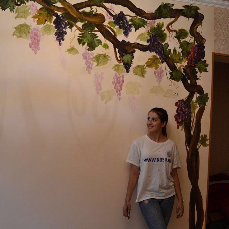 Роспись стен от Alina Nazranova
