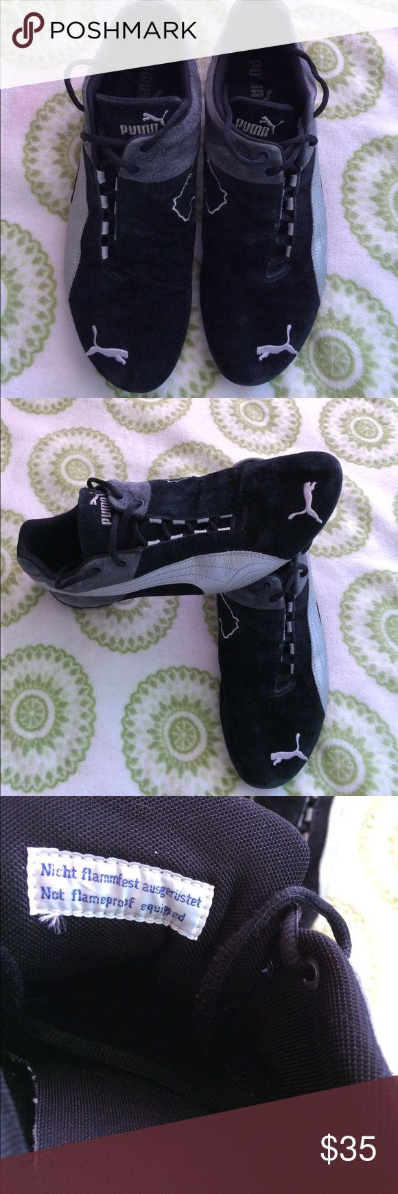 Genuine suede Puma car racing shoes. Excellent Genuine suede Puma car racing shoes. Excellent condition. Puma Shoes Athletic Shoes
