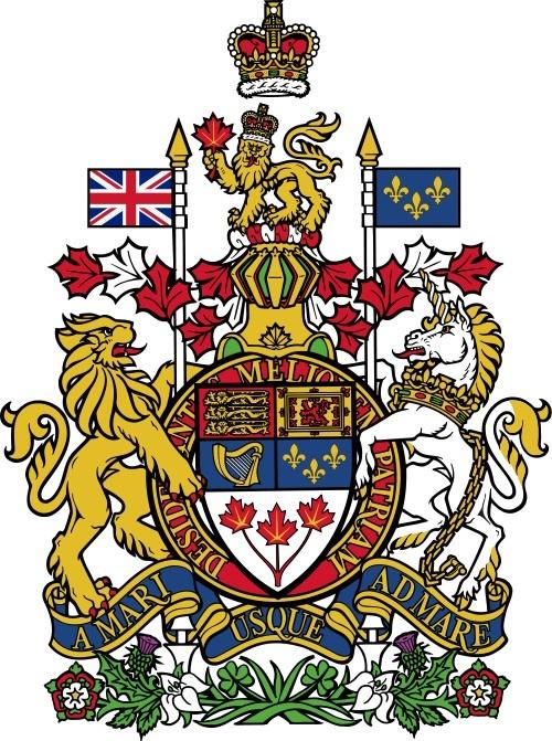 Canada's coat of arms | #heraldry