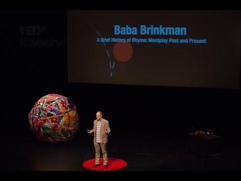A brief history of rhyme: Baba Brinkman at TEDxNavesink - YouTube