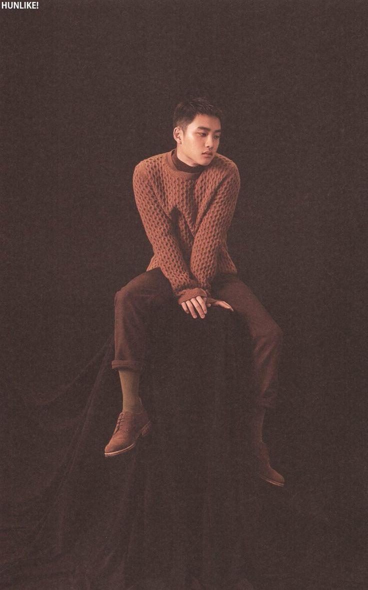 EXO (D.O)  For Life Album Scan cr : hunlike