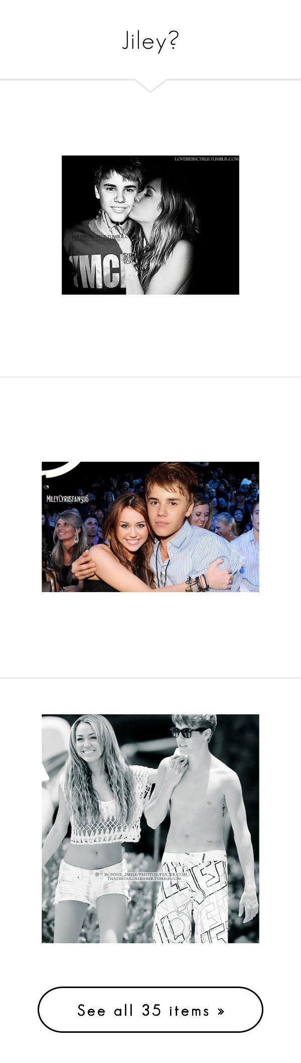 """Jiley♥"" by hannahlovesthebiebs ❤ liked on Polyvore featuring jiley, justin bieber, miley cyrus, celebrities, pictures, celebs, justin, miley, justin & miley and couples"