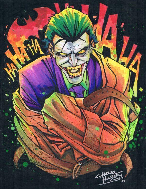 pin the joker art - photo #4