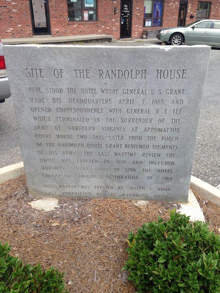 Randolph House In Farmville Virginia