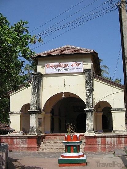 Shivaji Maharaj temple at Sindhudurg Fort near Malvan beach