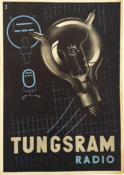 Tungsram Radio - 1950