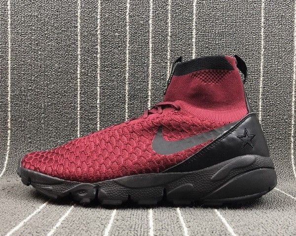 762aacc86893b6 Purchase Nike Air Footscape Magista Flyknit FC Burgundy Team Red Black