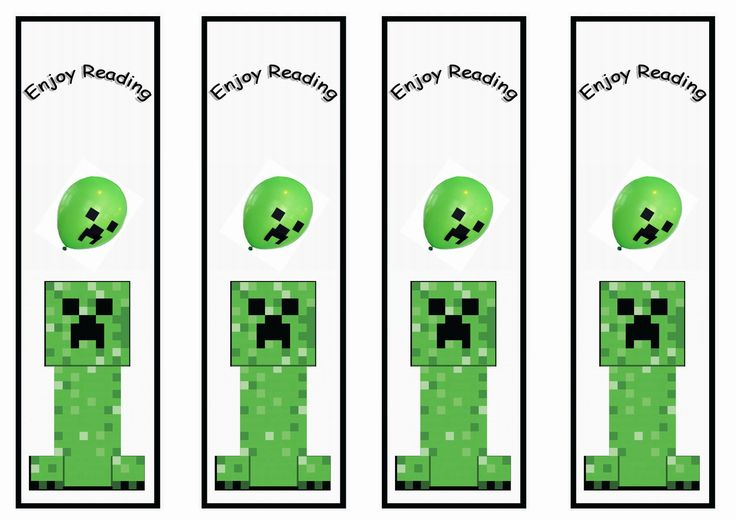 Minecraft Bookmarks