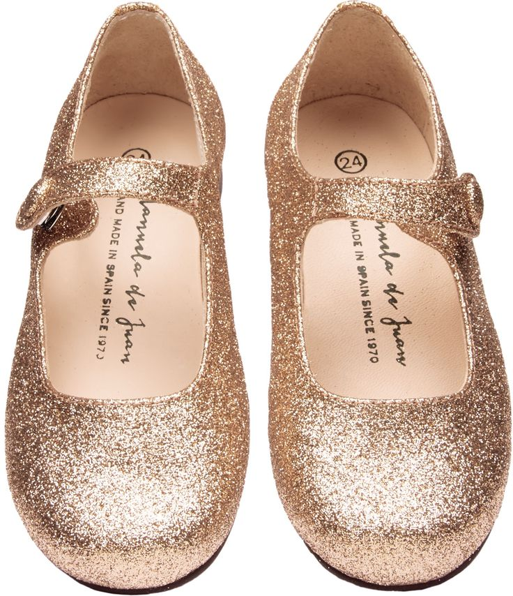 JUST IN: Shop The Manuela De Juan Girls Mimi Shoes In Gold. Browse The Cutest Designer Babies Shoes, Handpicked By Elias & Grace. Fashion Clothing For Kids 0-14Y.