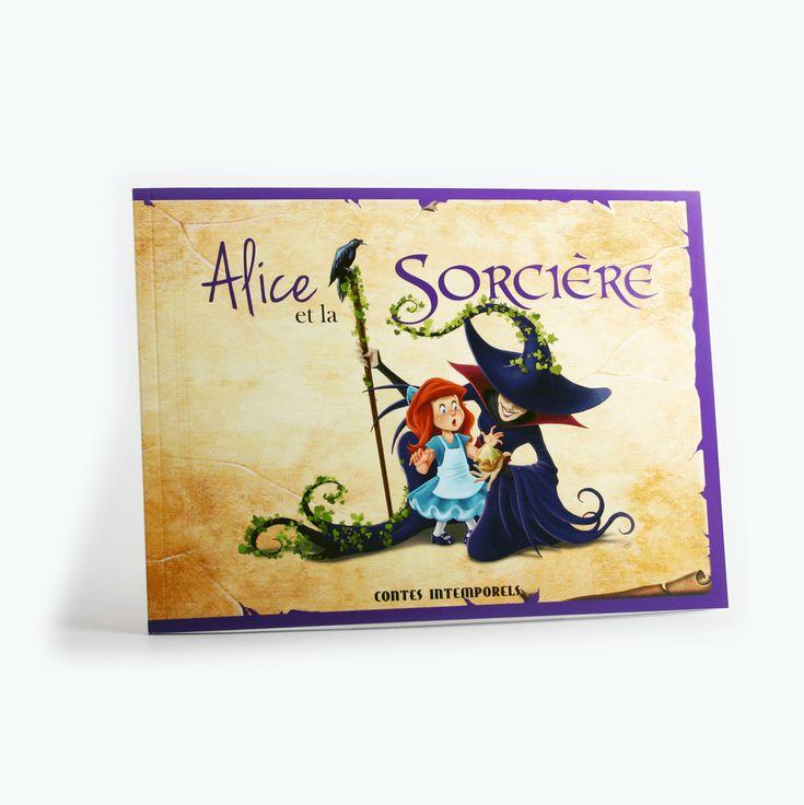 Alice et la sorcière - Alice est jalouse du potager de sa soeur Rosalie. Une sorcière lui offre d'y disperser des graines nuisibles. Alice accepte, mais le résultat n'est pas celui auquel elle s'attendait. La fillette sera prise à son propre jeu et regrettera d'avoir voulu du mal à sa soeur.