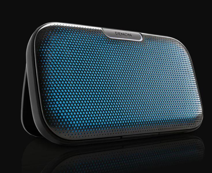 DENON FRANCE - Enceinte nomade bleue design - Envaya Bluetooth