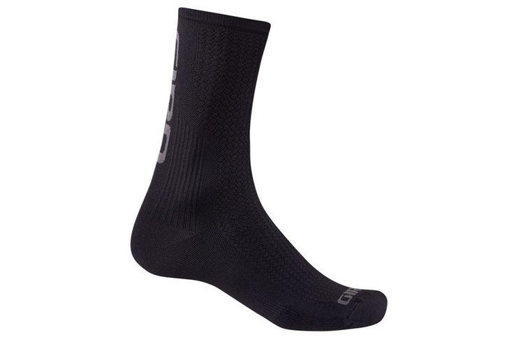 """Giro HRc Team 2016 Sokken - Zwart/Grijs  Giro HRc Team 2016 sokken voor fietsers:  sokken 6"""" 15cm.  Gemaakt in Italië.  Samenstelling: Polyamide Meryl Skinlife.  Maten: S/M (36-39) M (40-42) L (43-45) XL (46-48). Beschrijving Giro HRC Team sokken zijn het resultaat van een samenwerking van wielerploegen dit leidde tot een uitzonderlijke kwaliteit sokken. Ze zijn ongeloofelijk comfortabel zelfs op de zeer warme of zeer vochtige dagen omdat ze gemaakt zijn van Meryl Skinlife vezels dit om het…"""
