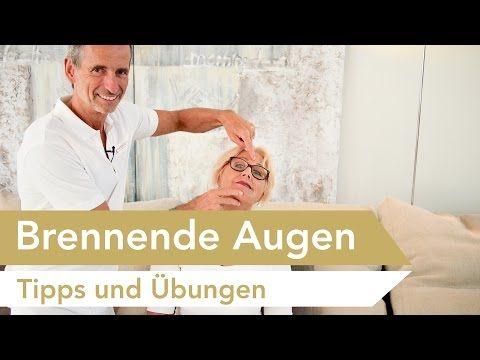 Brennende Augen | Effektive Übungen & Tipps gegen Augenbrennen | Erkältung, Trockene Augen - YouTube