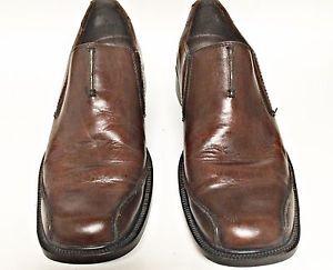 Men's Clarks Brown Slip on 73196 US Shoe Size Men's 12 Medium D M Solid Leather | eBay