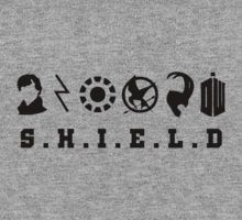 Sherlock, Harry, Iron Man, Everdeen, Loki, Doctor Who T-Shirt
