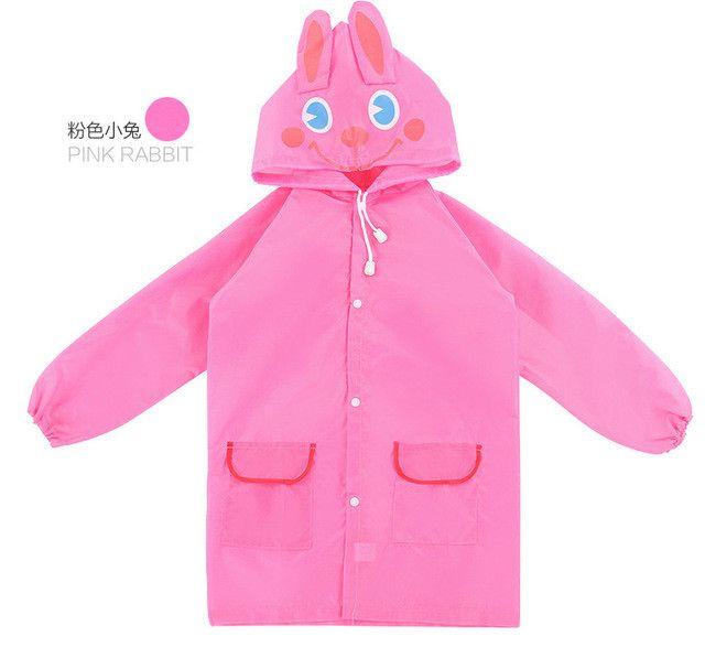 New Outdoor Cute Waterproof Kids Rain CoatKids Animal Style Raincoat For children Raincoat Rainwear/Rainsuit