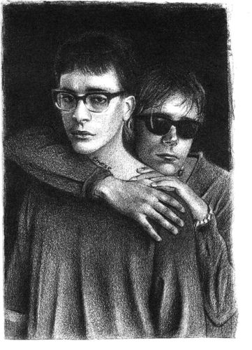 Graham & Damon  #grahamcoxon #damonalbarn #blur