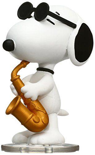 Medicom Peanuts Series 6: Saxophone Player Snoopy Udf Action Figure