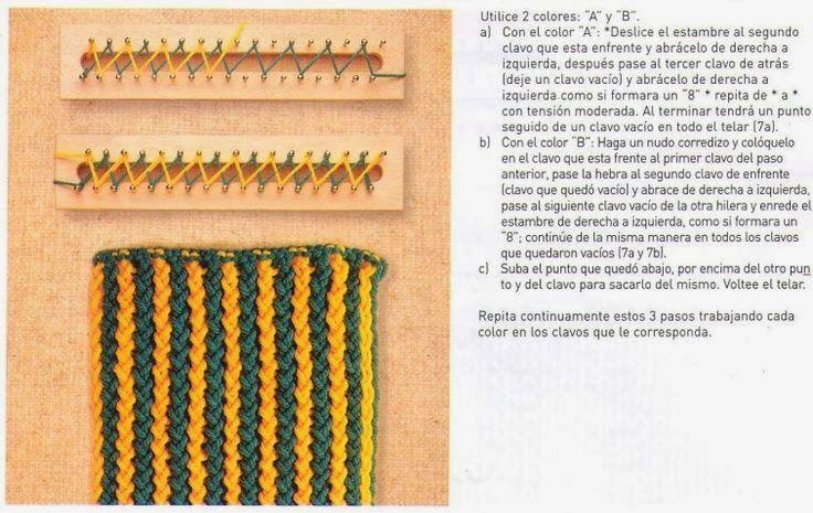 (1/3)Laurelis Anper - Telar Maya: Puntos en Telar